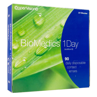 Ocular Sciences Biomedics 1 Day 90er Kontaktlinsen