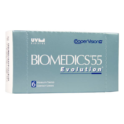 Ocular Sciences Biomedics 55 Evolution UV Kontaktlinsen